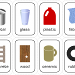 Materials Flash Cards