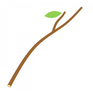 simple illustration of a stick