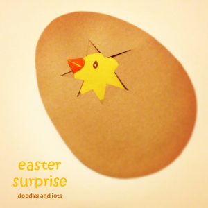 easter surprise craft