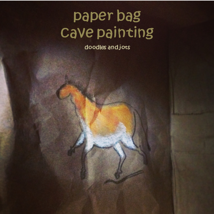 cave painting craft
