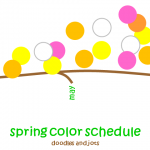 Spring's Color Schedule