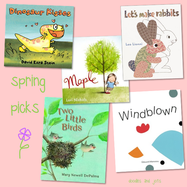 spring picture book picks